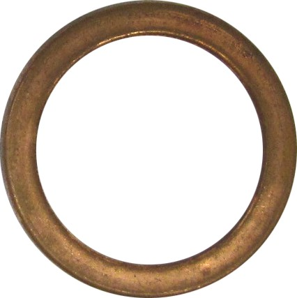 1978-1981 Exhaust Gasket Honda XL 250 S USA Flat Copper 4mm Type Per 10