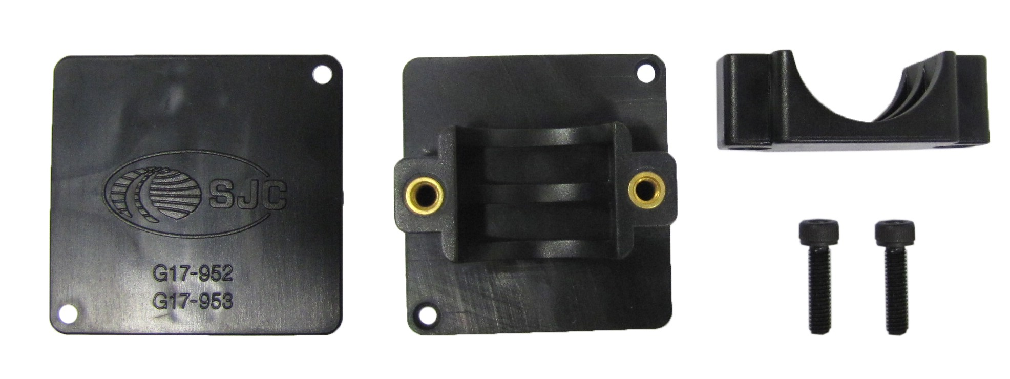 "Pair Grips Heated Control Unit Bracket For 7//8/""Handlebars"