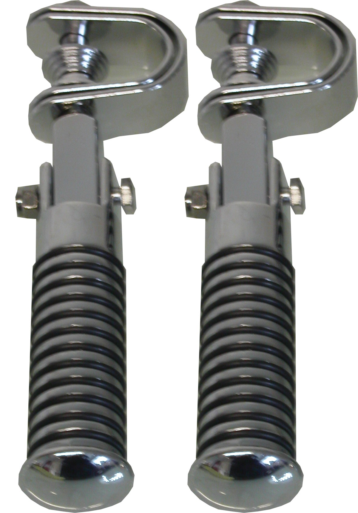 Footrests Clamp On Sundance O-Ring Style (Pair)