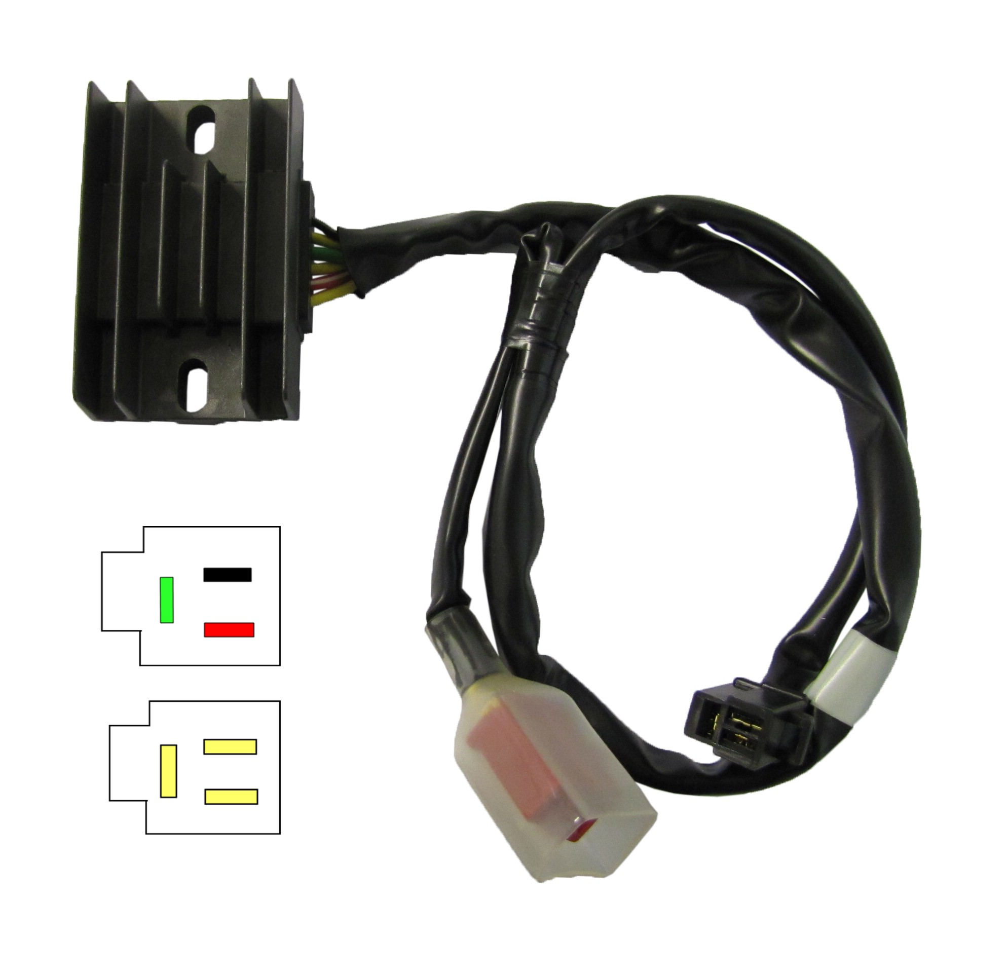 Regulator Rectifier Fits Honda Nx250 88 Each 31600 Kw3 010 1983 Shadow Motorcycle 1 Of 3only 4 Available See More