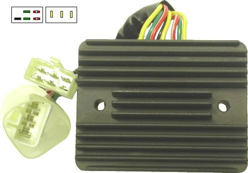 regulator rectifier fits honda vfr800 00 09 8 wires. Black Bedroom Furniture Sets. Home Design Ideas