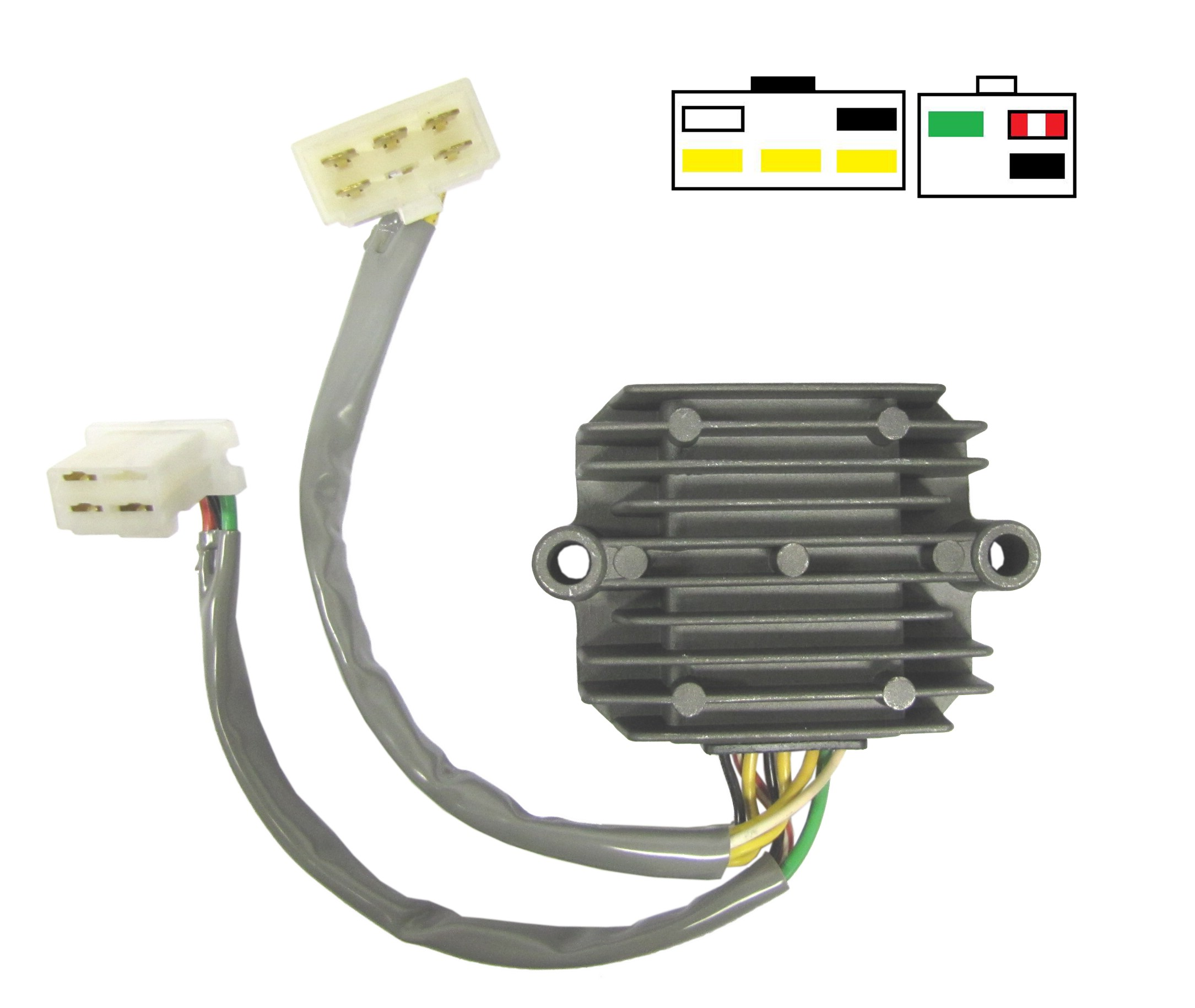 Honda Regulator Rectifier Wiring Trusted Diagrams Diagram Fits Cb1000 8 Wires Sh236b 12 Each Ebay Simple Points