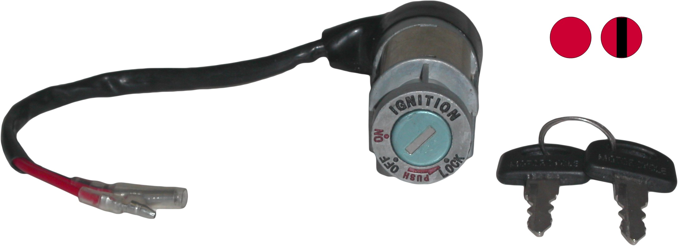 Ignition Switch Fits Honda ANF125 Innova 03-06(2 Wire) (Each) 35100 ...