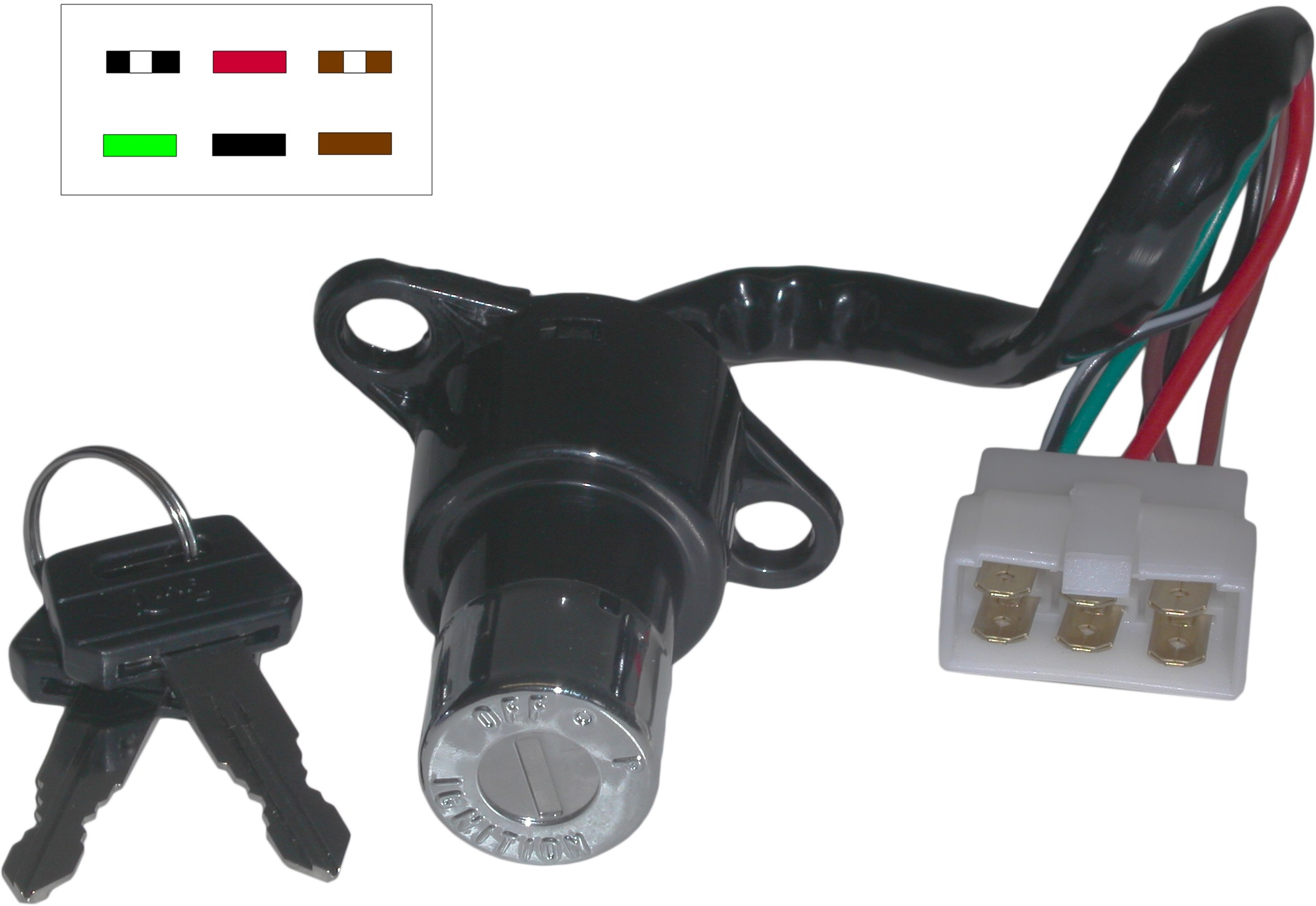 1980-1981 Ignition Switch Fits Honda CM 400 T Europe 35100-KR3-870 Each