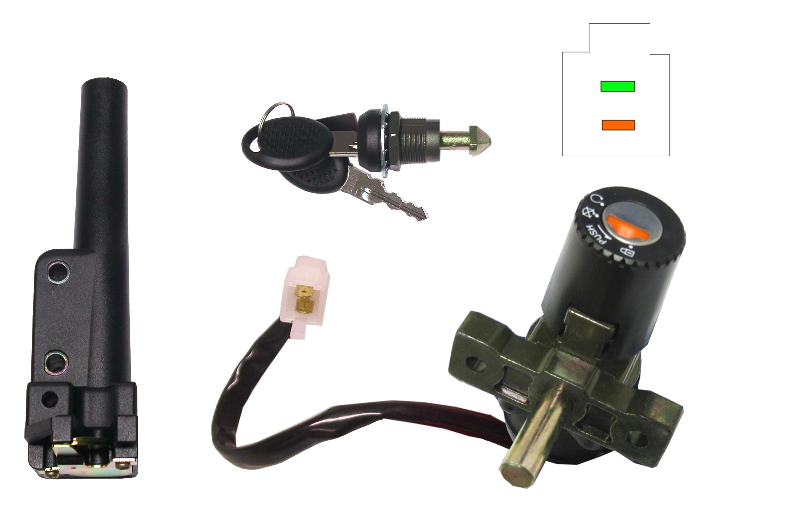 Ignition Switch & Seat Lock Aprilia SR50 Di-Tech(2 Wire) (Each) | eBay