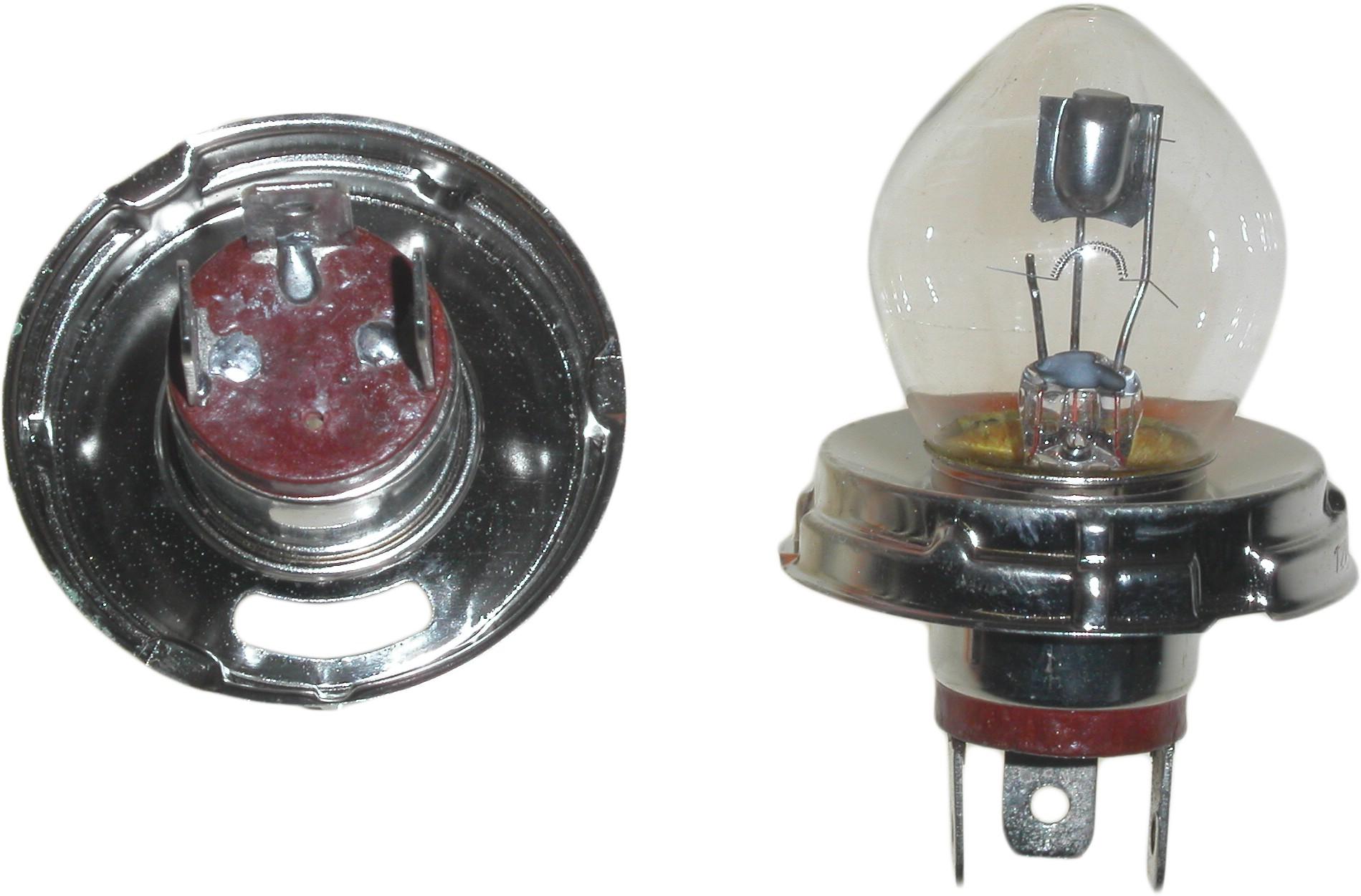 Disc Yamaha DT 125 LC Mk 2 1 Per 10 1985 Bulb Headlight Europe