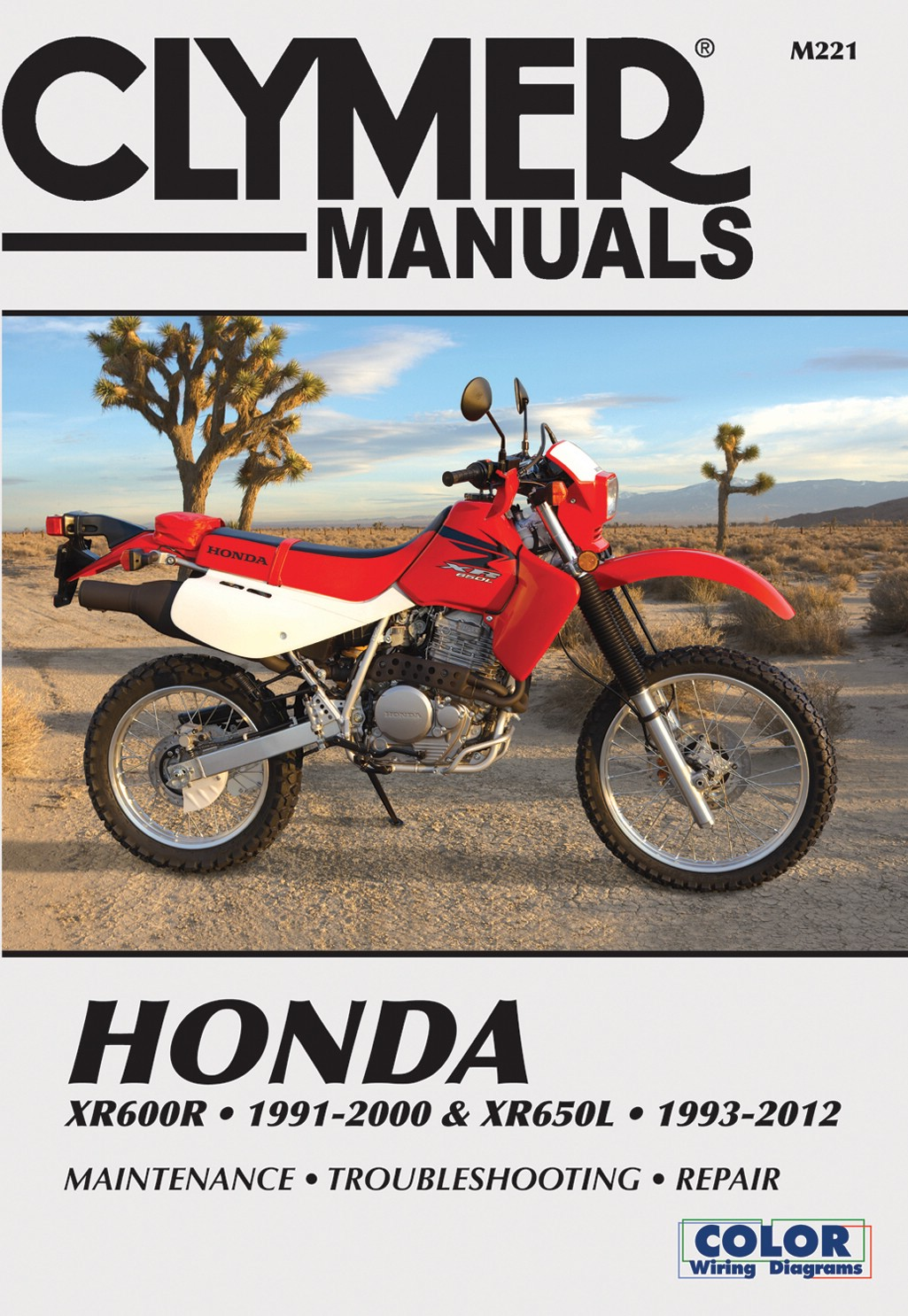 Image is loading Clymer-Manual-Fits-Honda-XR600R-91-00-amp-