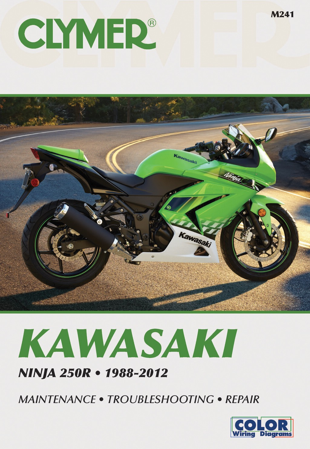 Image is loading Clymer-Manual-Kawasaki-Ninja-250R-88-12-Each