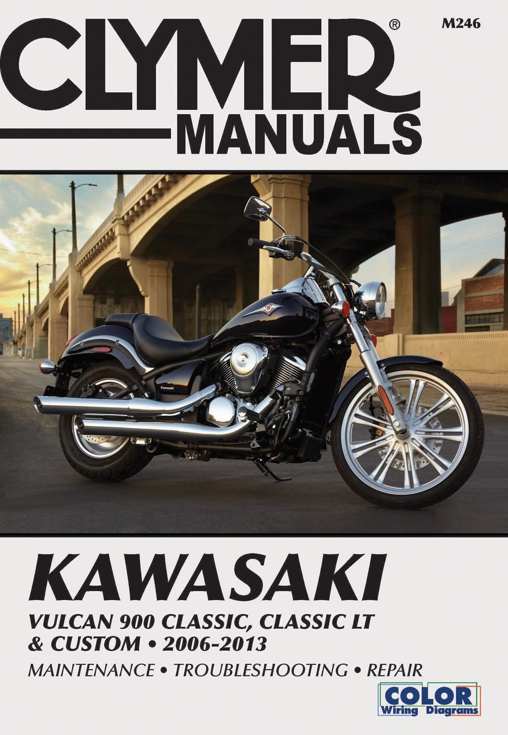 Image is loading Clymer-Manual-Kawasaki-Vulcan-900-06-13-Each