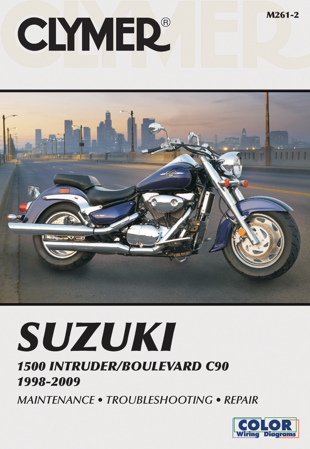 Image is loading Clymer-Manual-Suzuki-1500-Intruder-Boulevard-C90-98-