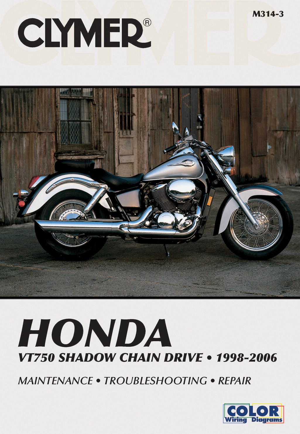 Image is loading Clymer-Manual-Fits-Honda-VT750-Shadow-Chain-Drive-