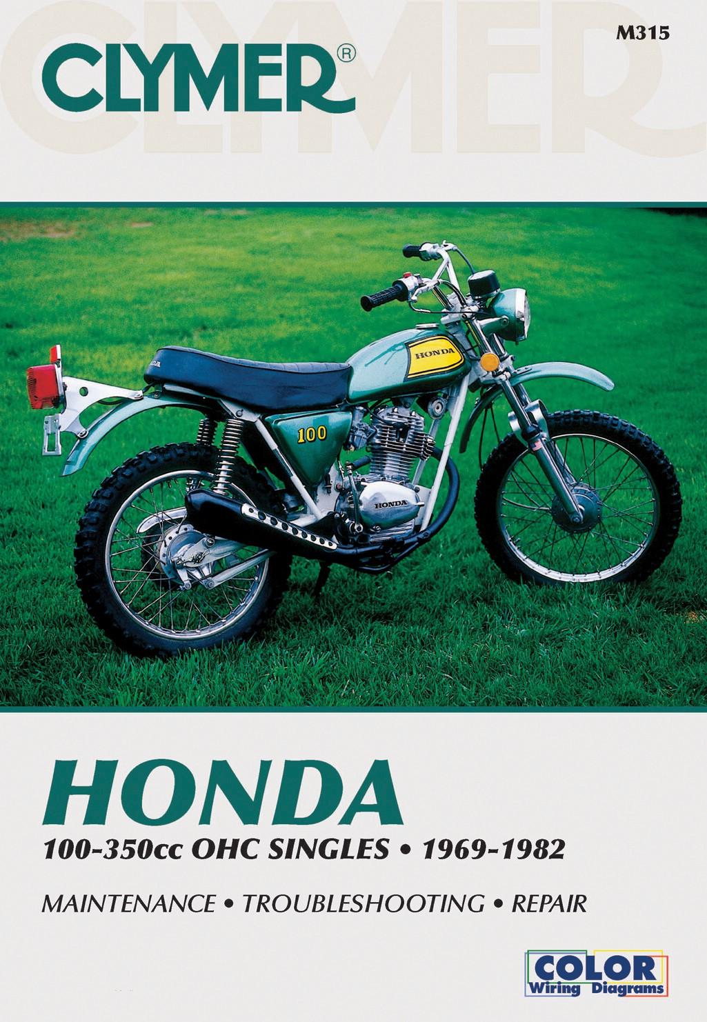 fits honda tl 125 k (europe) 1973 1975 manuals clymer (each) ebayimage is loading fits honda tl 125 k europe 1973 1975