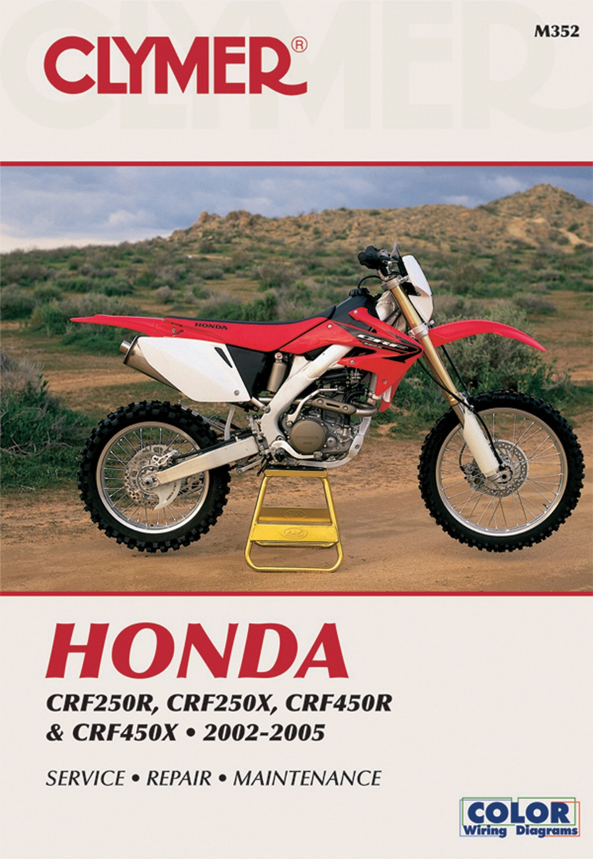 fits honda crf 450 x europe 2005 manuals clymer each ebay rh ebay co uk 2005 honda crf450r service manual pdf 2005 crf450r owner's manual