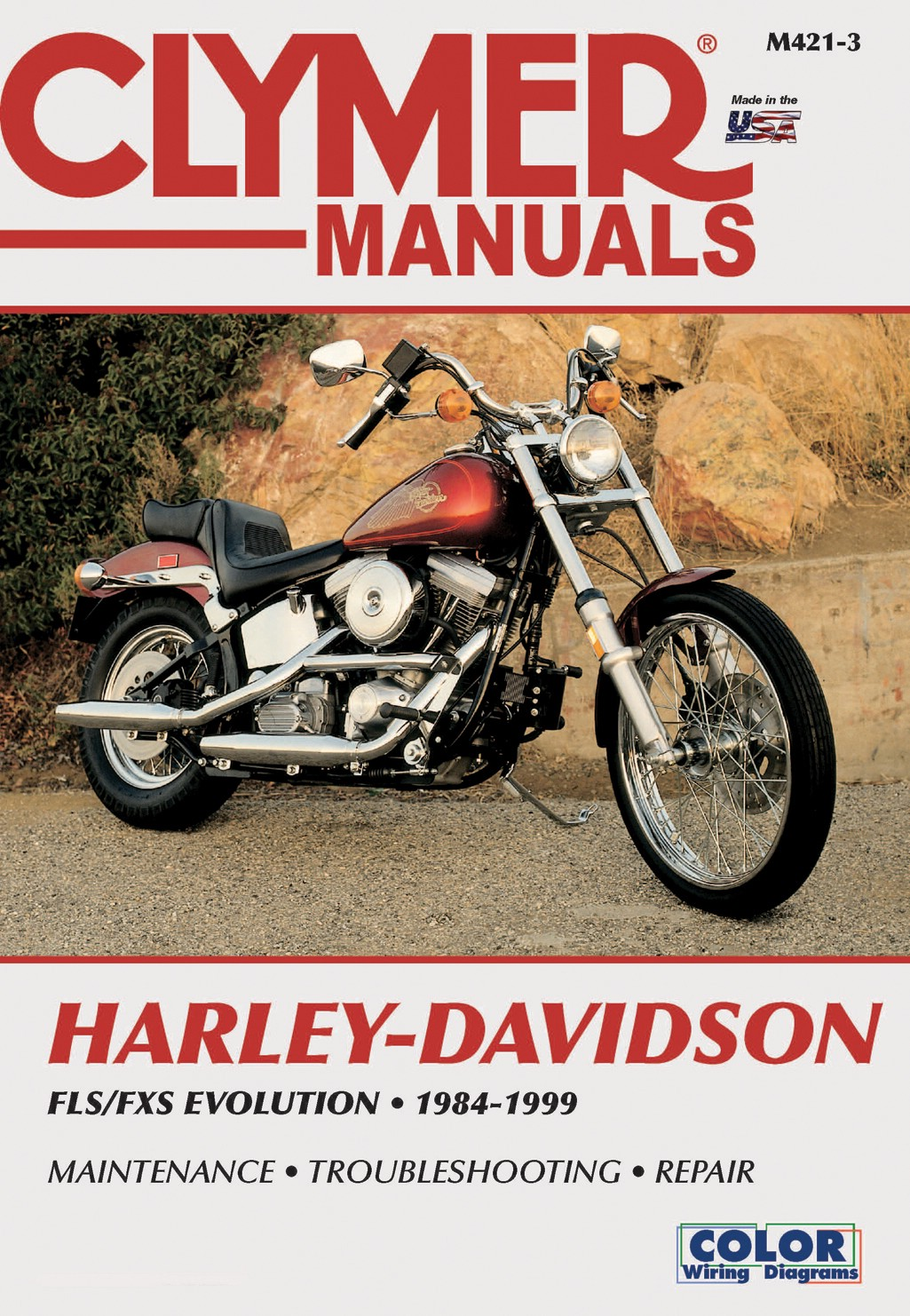 Harley Davidson FLSTF 1340 Fat Boy 1990-1999 Manuals - Clymer (Each)