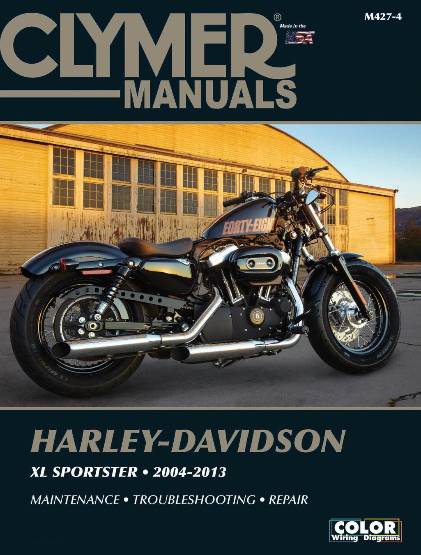 Image is loading Clymer-Manual-Harley-Davidson-XL-Sportster-04-13-