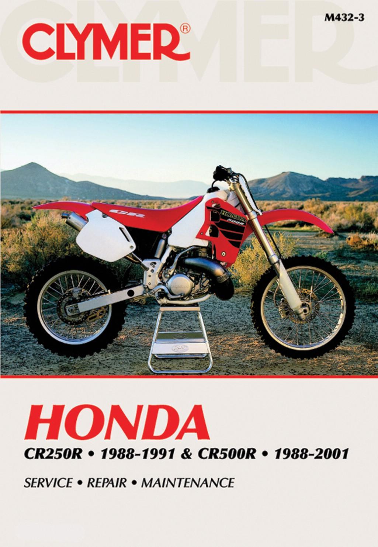 clymer manual fits honda cr250r 88 91 cr500r 88 01 each ebay rh ebay co uk 1997 Honda CR250 1996 Honda CR250