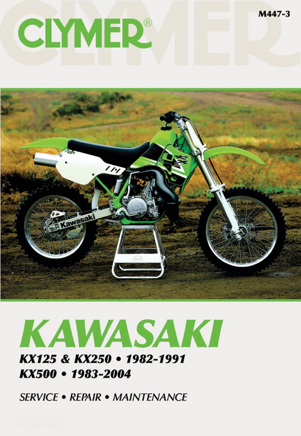 Image is loading Kawasaki-KX-125-C-1984-Manuals-Clymer-Each