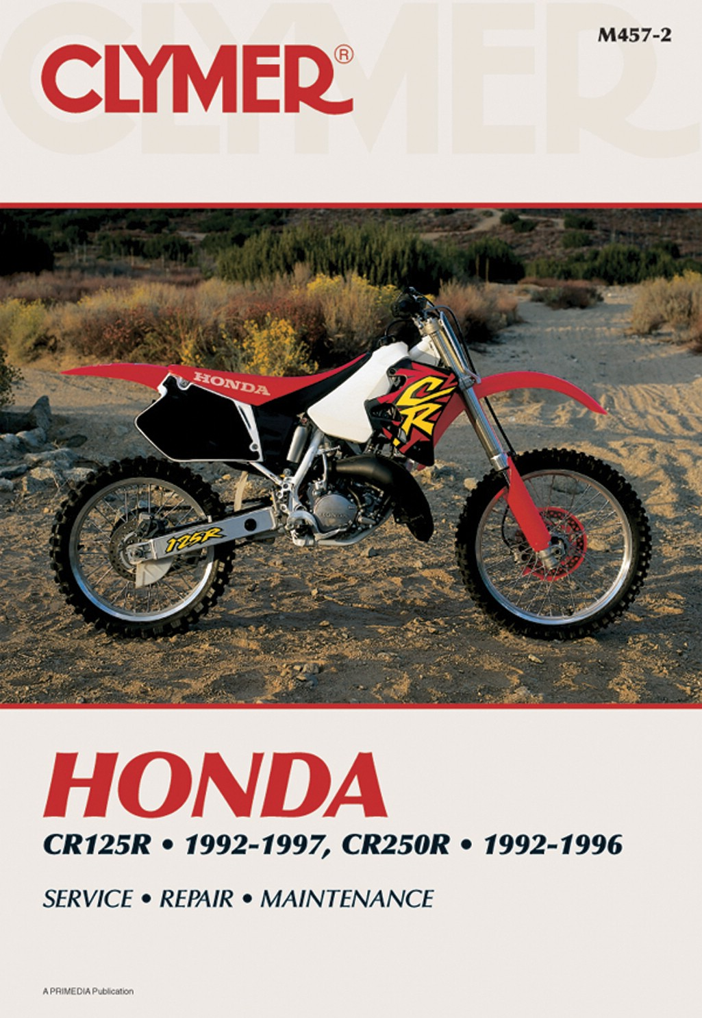 Image is loading Clymer-Manual-Fits-Honda-CR125R-92-97-CR250R-