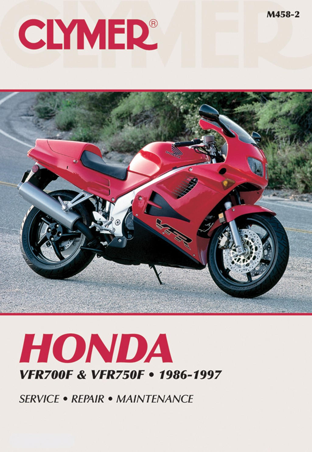 Image is loading Clymer-Manual-Fits-Honda-VFR700F-750-86-97-