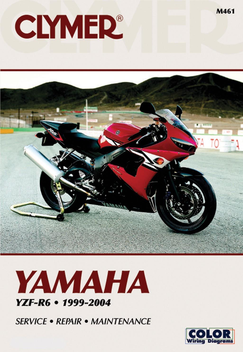 Image is loading Yamaha-YZF-R6-UK-1999-2004-Manuals-Clymer-