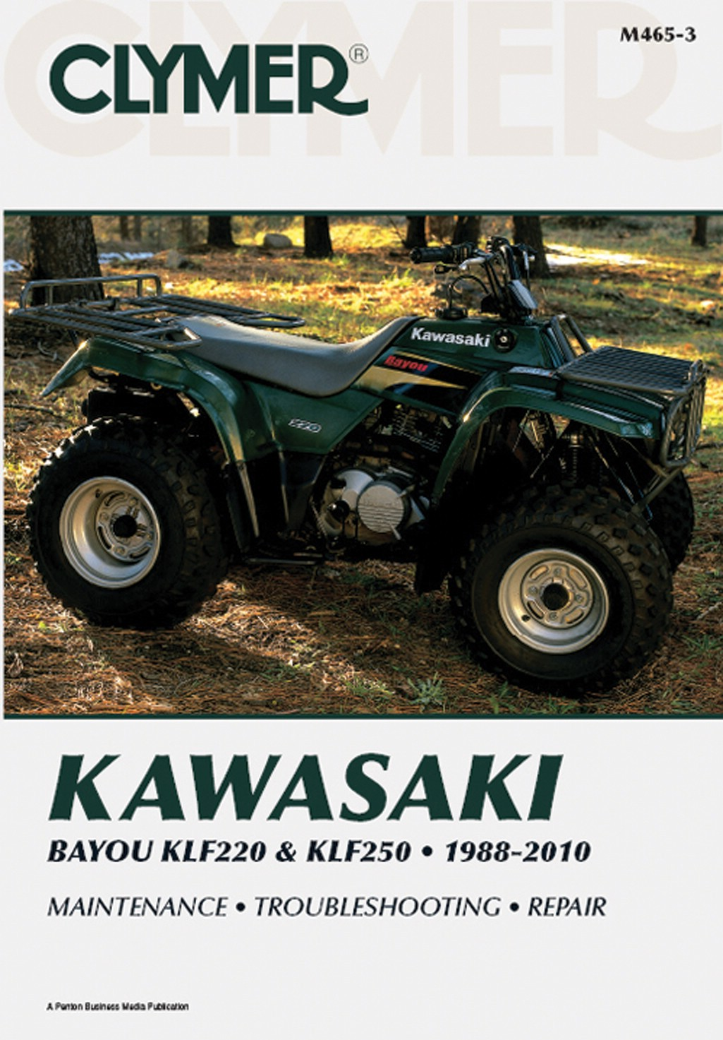 Image is loading Clymer-Manual-Kawasaki-Bayou-KLF220-amp-KLF250-88-