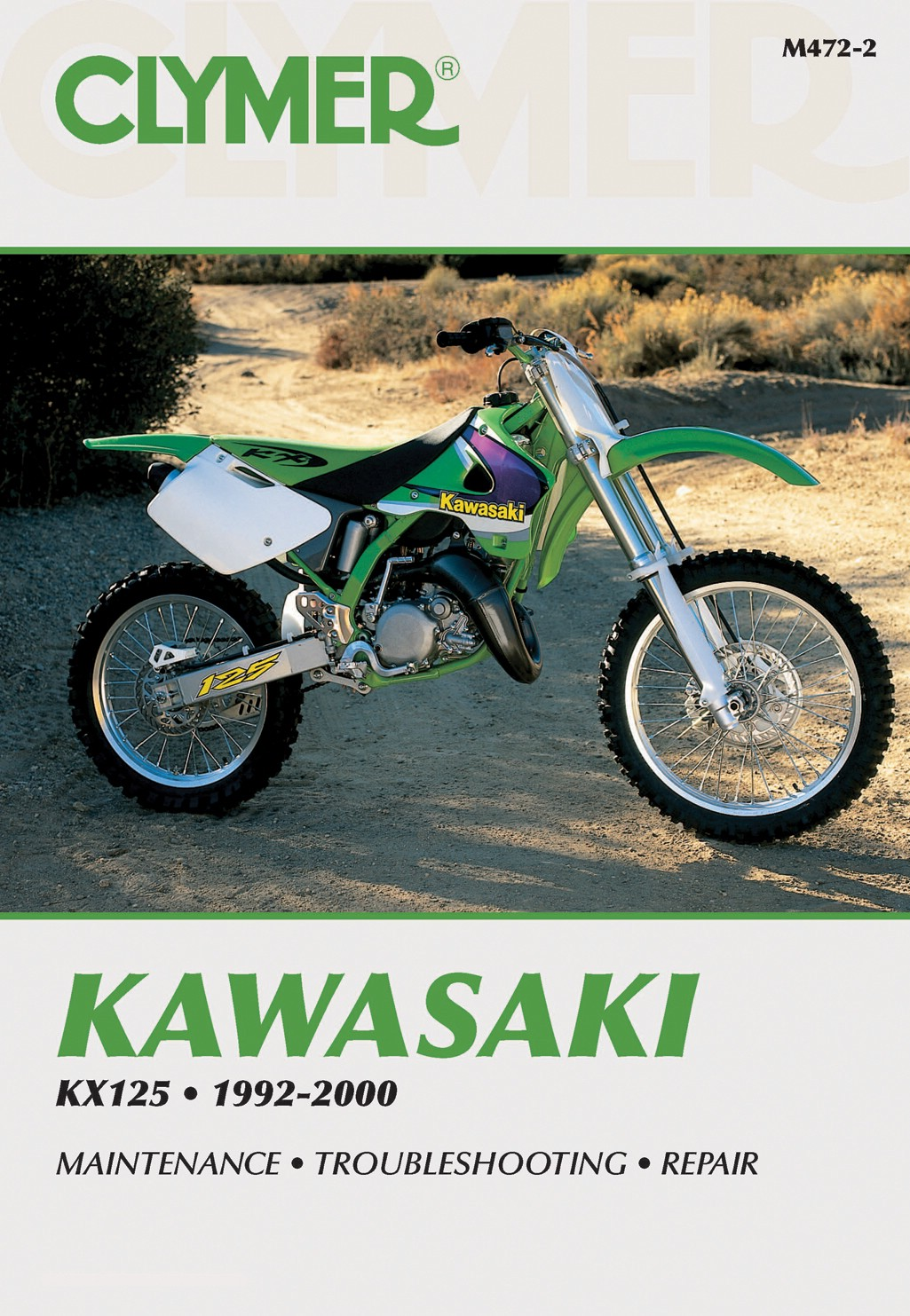 clymer manual kawasaki kx125 92 00 each ebay rh ebay co uk 1993 Yamaha YZ  125 2017 125 Kawasaki KX