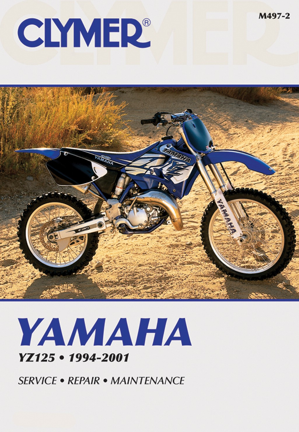 Image is loading Clymer-Manual-Yamaha-YZ125-94-01-Each