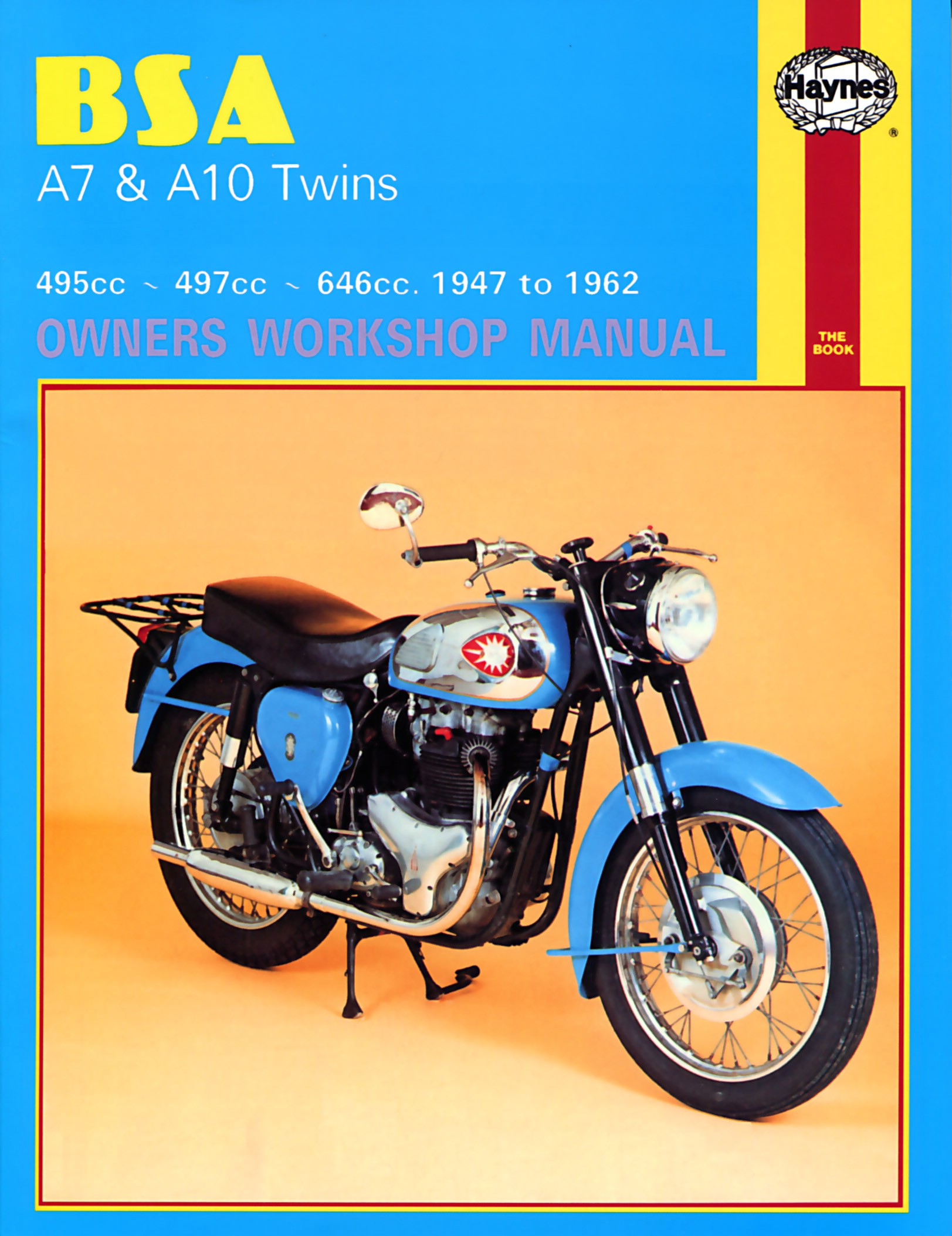 Image is loading Haynes-Manual-BSA-A7-amp-A10-Twins-StarTwin-
