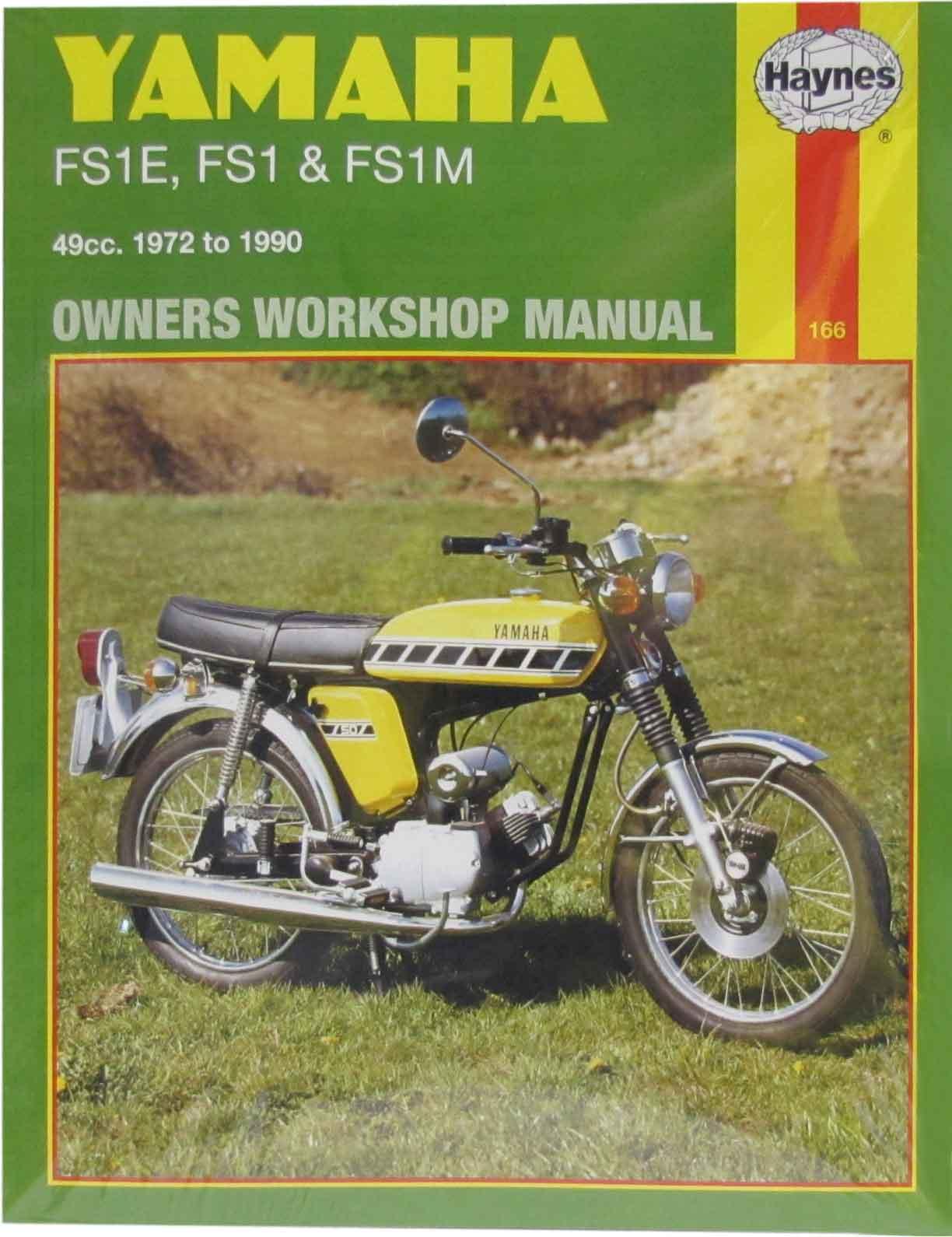 haynes manual yamaha fs1e all models each ebay rh ebay co uk yamaha fs1 manual yamaha fs1 manual pdf