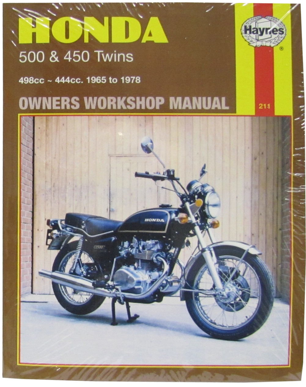 Image is loading Haynes-Manual-Fits-Honda-CB500-amp-450-Twins-