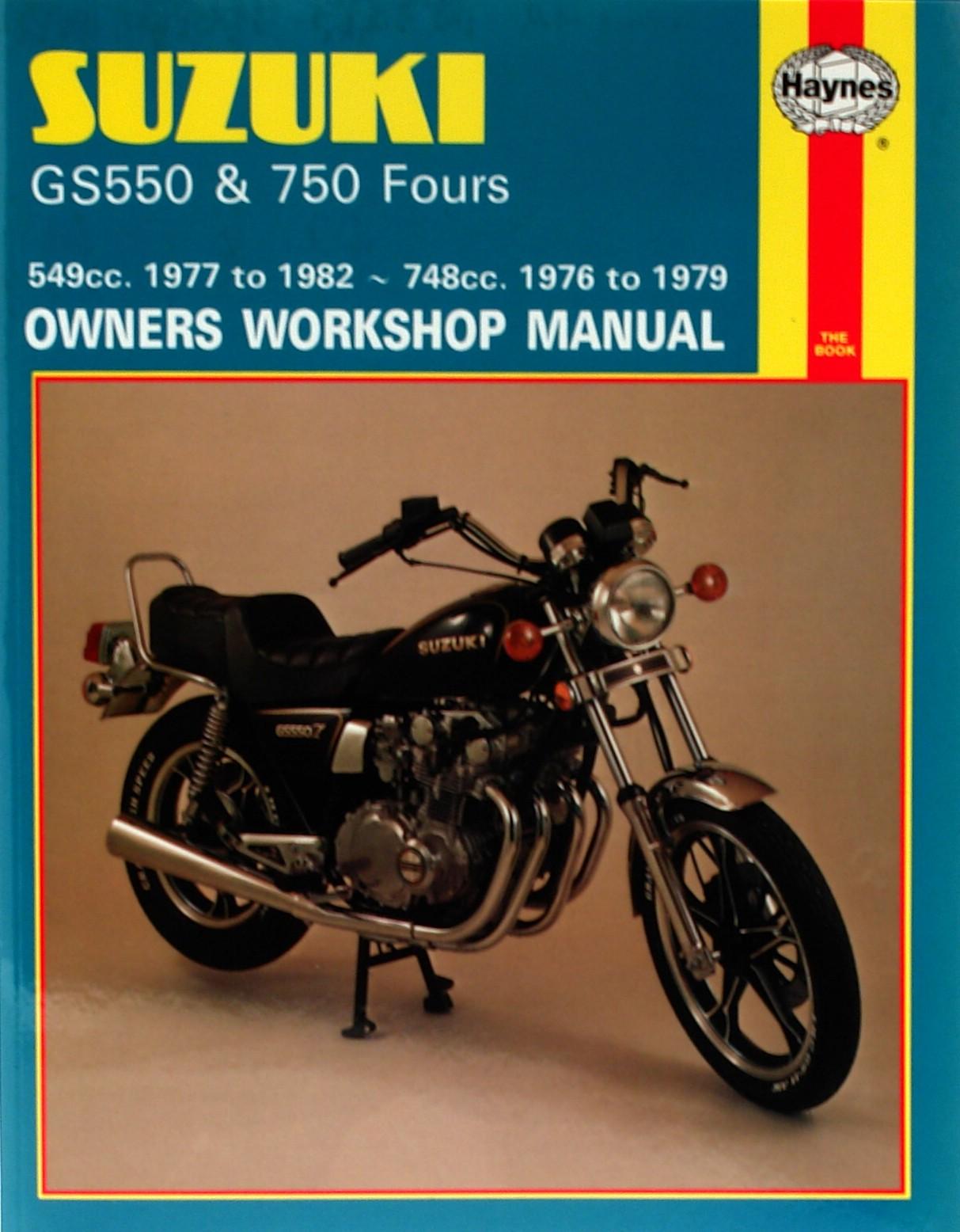 Image is loading Haynes-Manual-Suzuki-GS550-76-82-GS750-76-