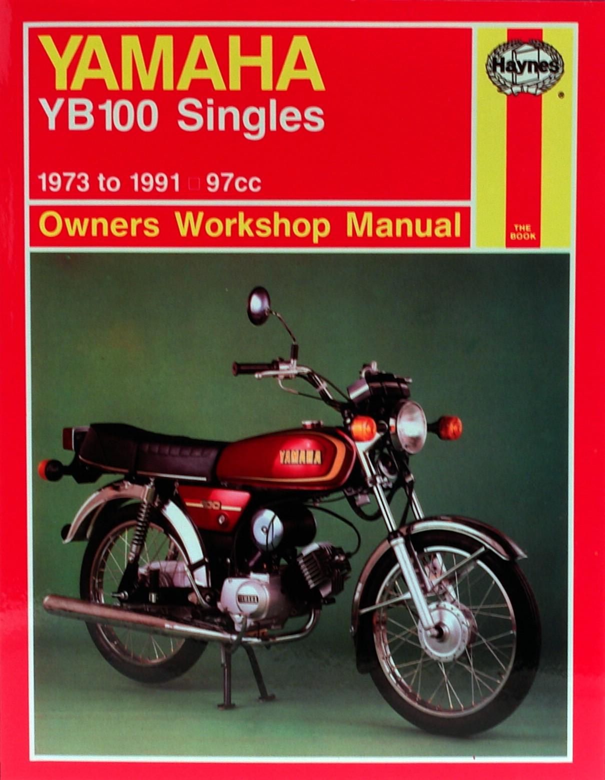haynes manual yamaha yb100 73 91 each ebay rh ebay co uk Blue Yamaha YB 100 Yamaha YBR 125