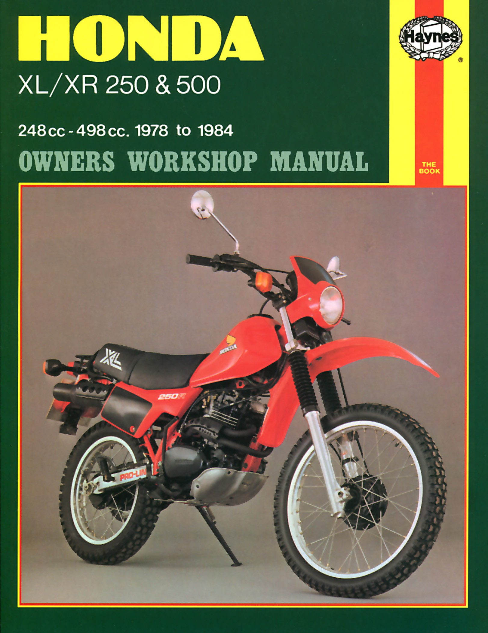 fits honda xr 250 s usa 1979 1980 manuals haynes each. Black Bedroom Furniture Sets. Home Design Ideas