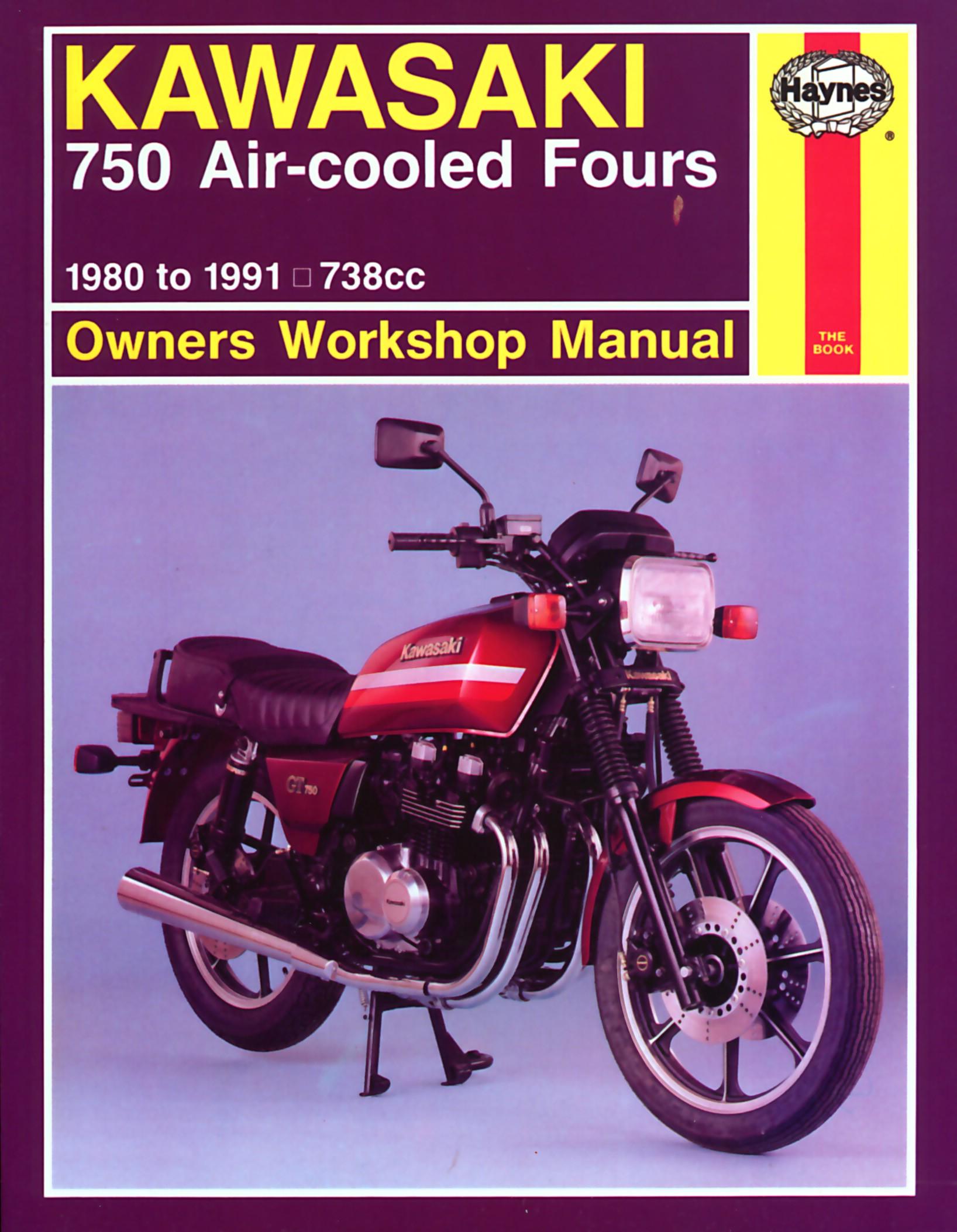 kawasaki k z 750 b twin 1976 1979 manuals haynes each rh picclick co uk