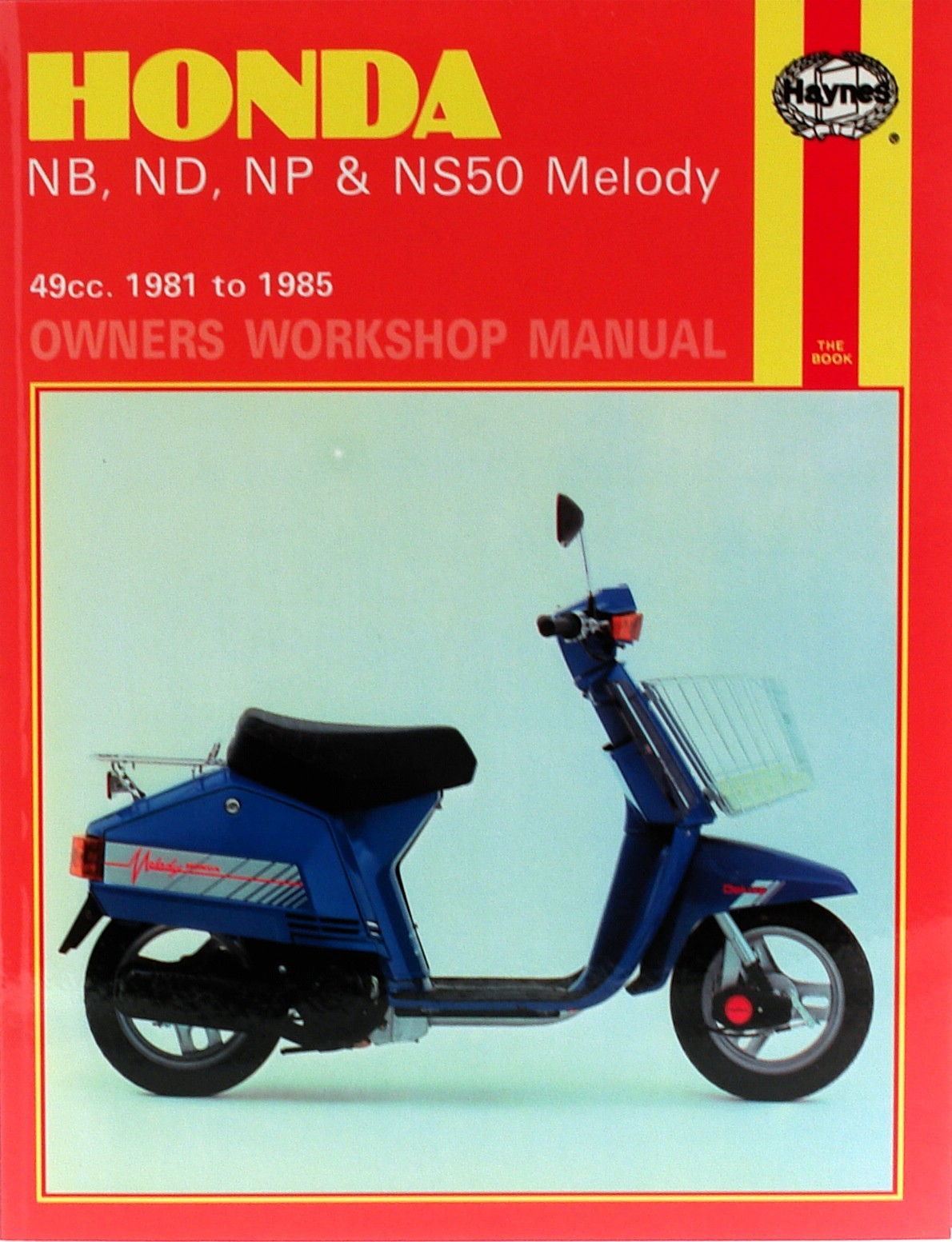Image is loading Fits-Honda-NS-50-Melody-Europe-1985-Manuals-