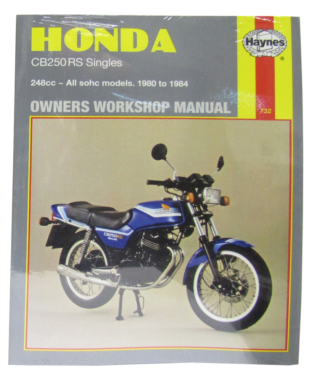 fits honda cb 250 rs europe 1980 manuals haynes each ebay rh ebay co uk honda cb 250 rs service manual Honda CB 150