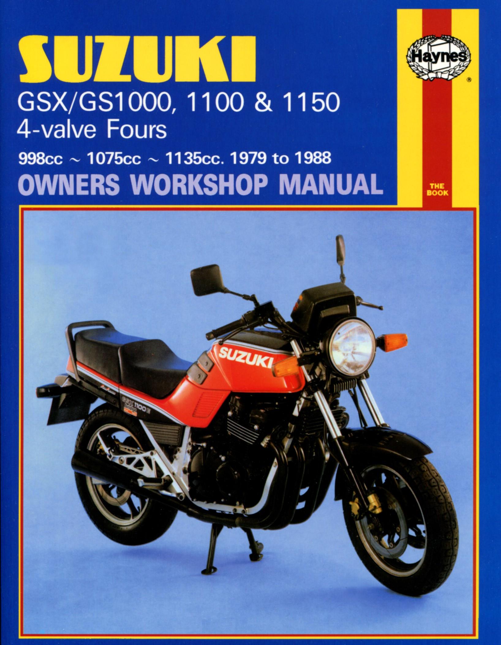 suzuki gsx 1100 s katana uk 1982 1984 manuals haynes each ebay rh ebay co  uk 2019 Suzuki Katana suzuki gsx 1100 katana service manual