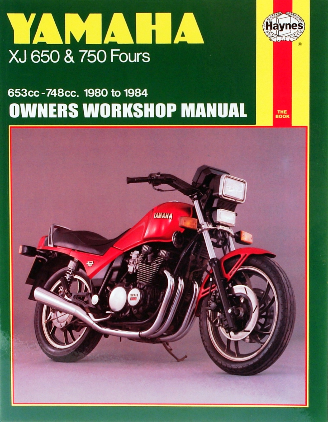1982 Yamaha Xj650 Turbo Repair Manual Wiring Diagram Xj 650 Europe Manuals Haynes Each Ebay Rh Co Uk Seca
