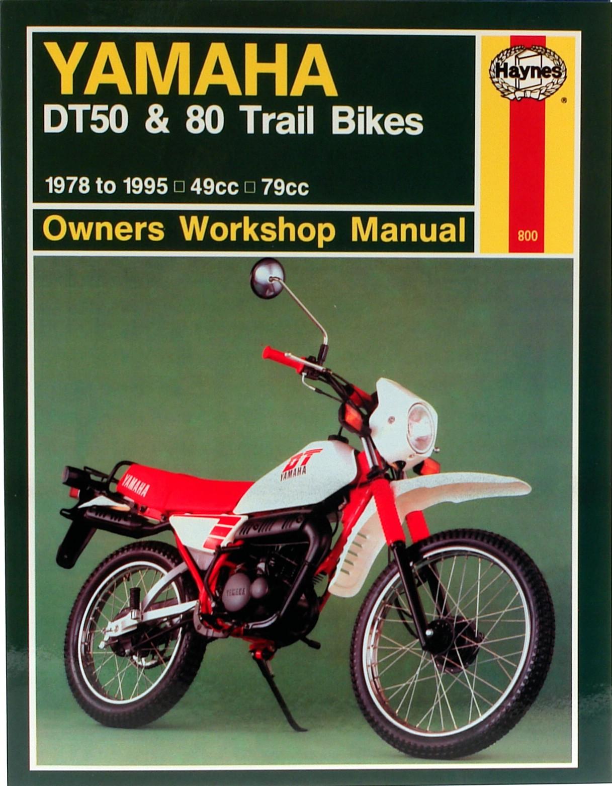 Haynes Manual Yamaha Dt50mx Dt80mx 78 95 Each Ebay Vfr 750 Honda Engine Diagram Dt50mxdt80mx