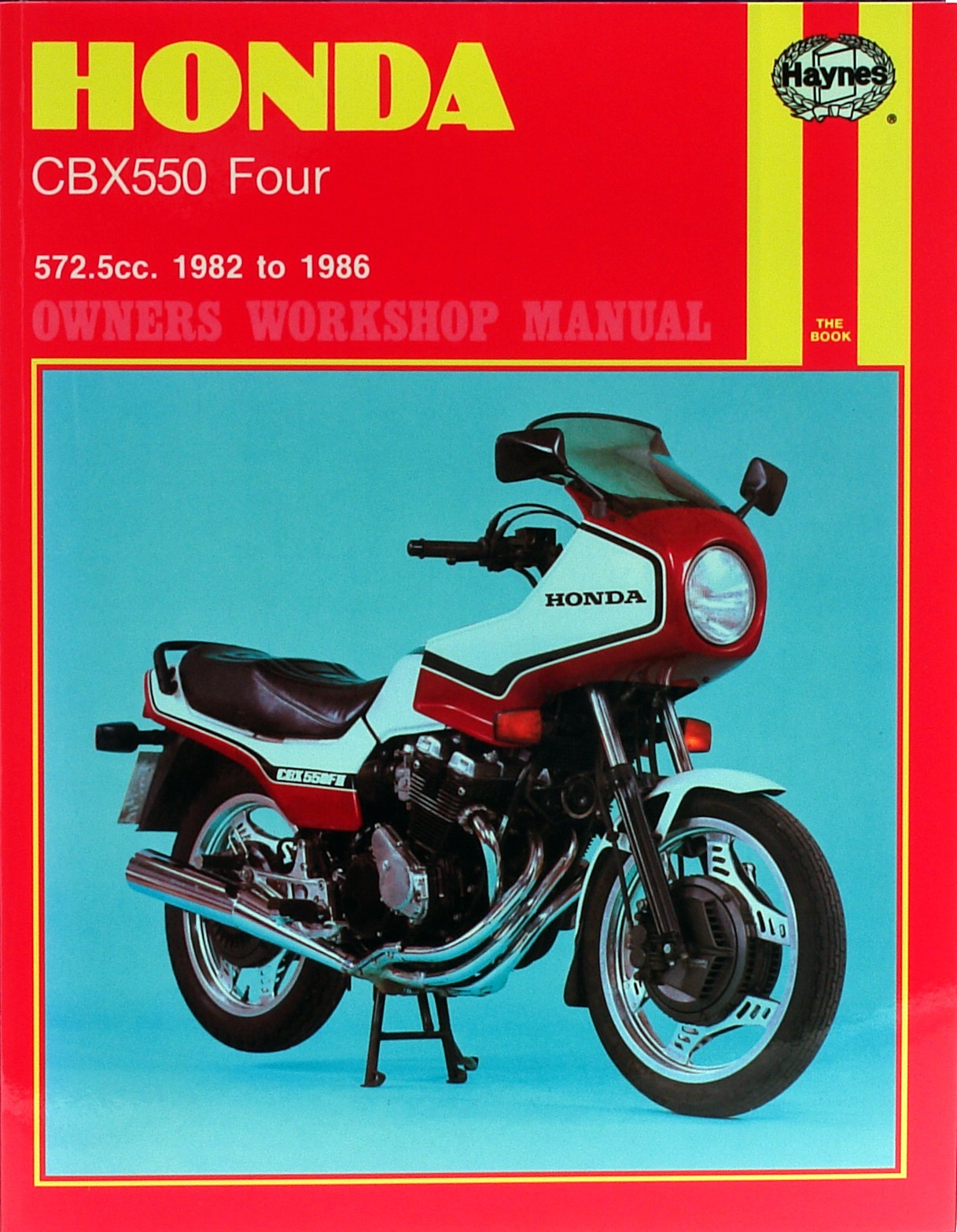 fits honda cbx 550 f europe 1982 1983 manuals haynes each ebay rh ebay co uk Honda CBX 500 2014 honda cbx550f parts manual