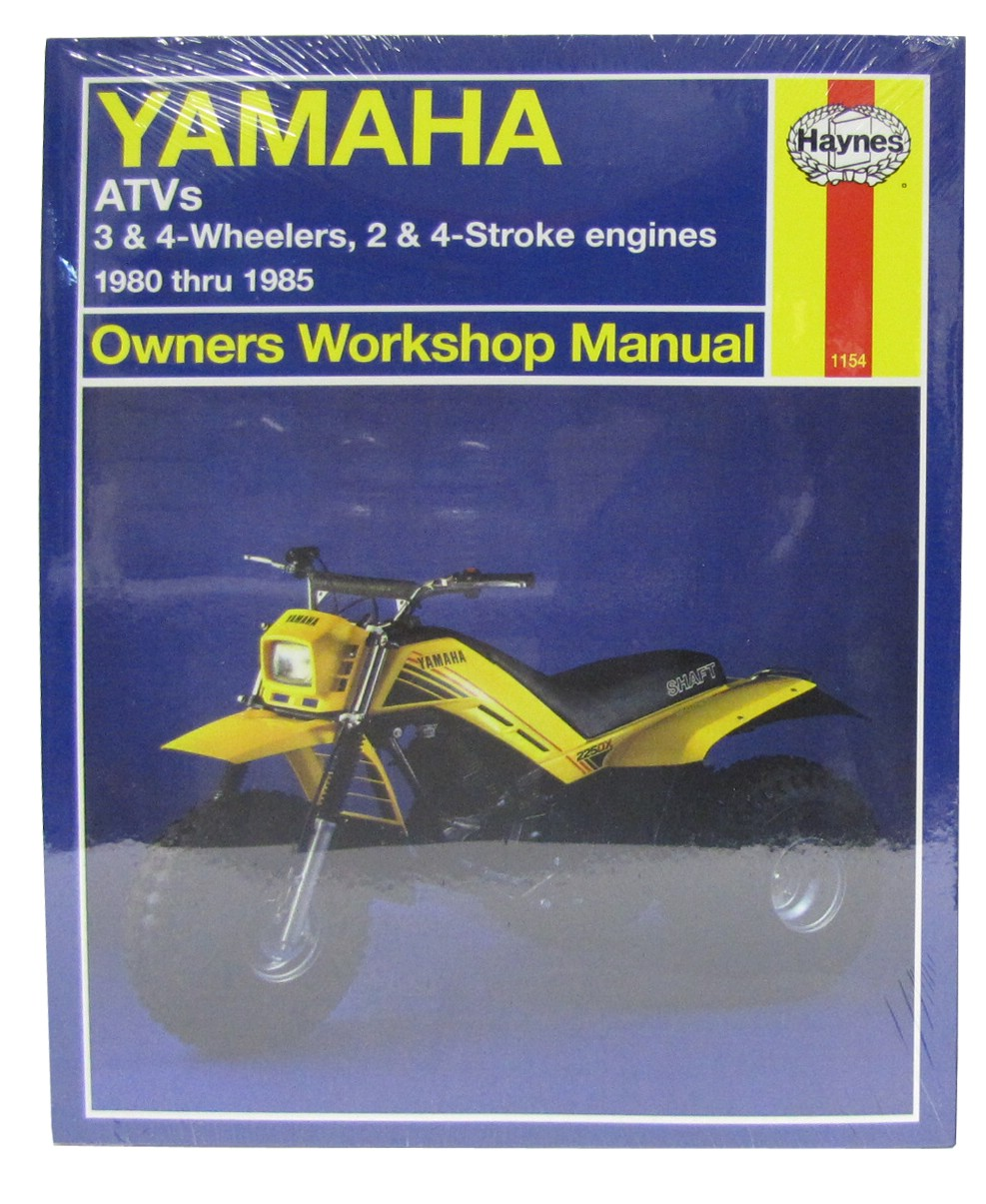 Image is loading Haynes-Manual-Yamaha-YFM200-YT60-125-175-YTM200-