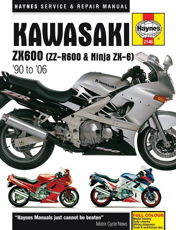 haynes manual kawasaki zzr600 90 06 each ebay rh ebay co uk 2005 ZZR 600 2003 ZZR 600
