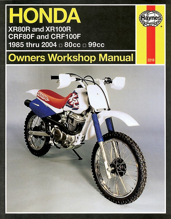 haynes manual fits honda xr80r xr100r 85 03 crf80 crf100f 04 07 rh ebay co uk crf 80 service manual honda crf80f 2004 service manual