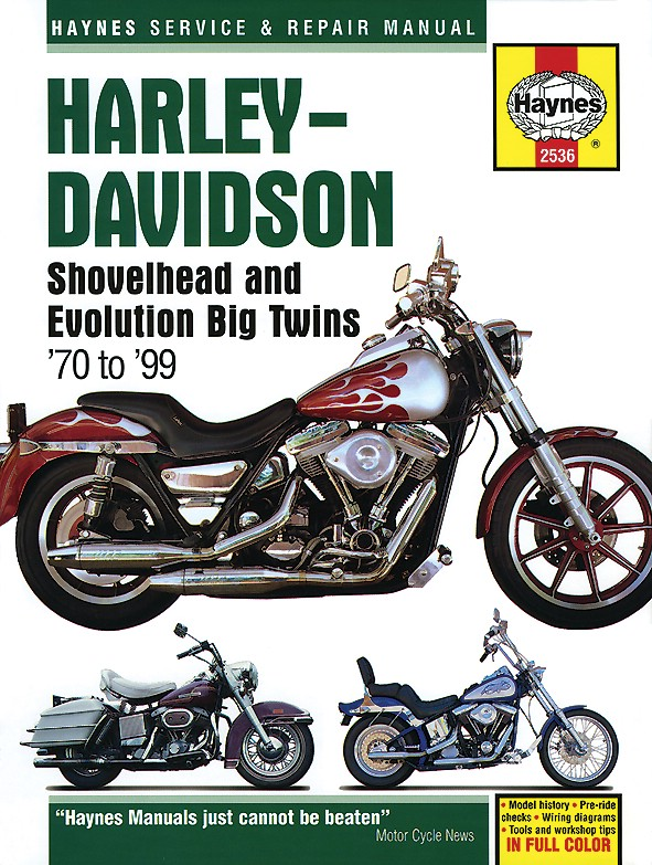 Harley Davidson FXDC Dyna Glide Custom 1992 Manuals - Haynes (Each on 1992 ford wiring diagram, 1992 dodge truck wiring diagram, 1992 evinrude wiring diagram,