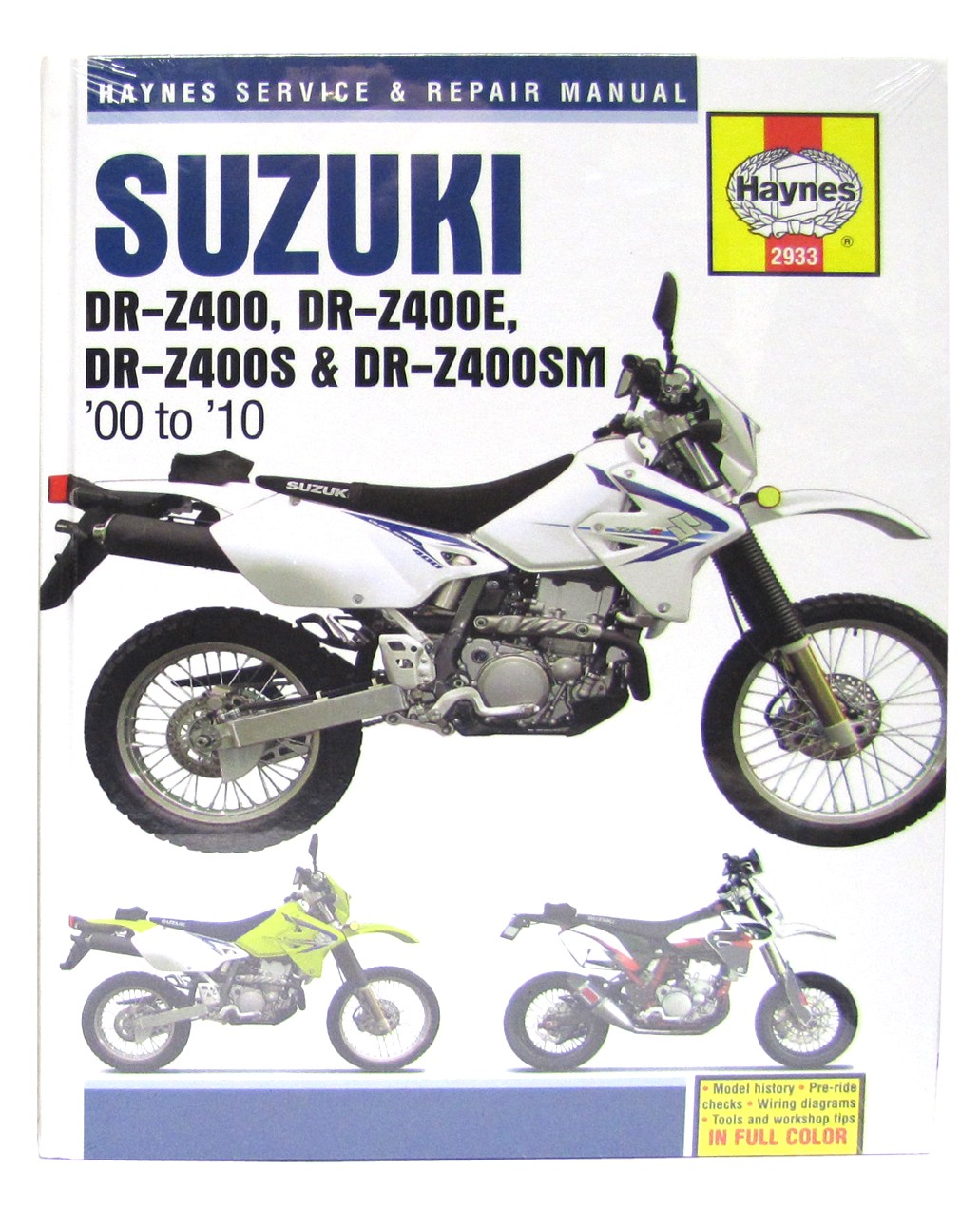 Image is loading Haynes-Manual-Suzuki-DRZ400-00-05-DRZ400E-00-