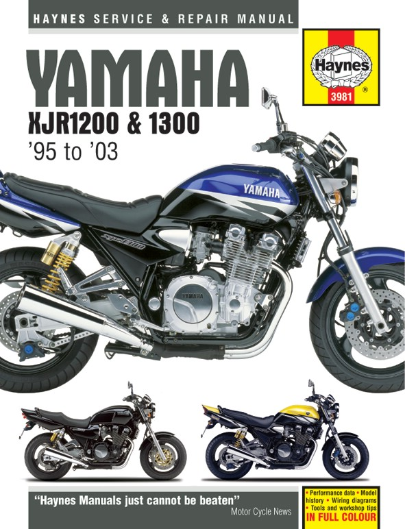 yamaha xjr 1300 sp europe 1999 2001 manuals haynes each ebay rh ebay co uk New Yamaha Xmax Scooters Motorcycles 2007 Yamaha 90 4 Stroke Motorcycle