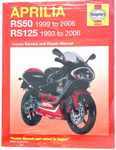 haynes manual aprilia rs50 99 06 rs125 93 06 each ebay rh ebay co uk aprilia rs 50 manual free download aprilia rs 50 manual pdf