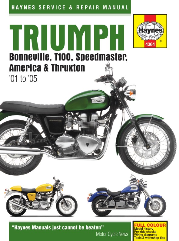 triumph bonneville t100 790cc 2002 2006 manuals haynes each ebay rh ebay co uk triumph t100 owners manual triumph t100 manual download