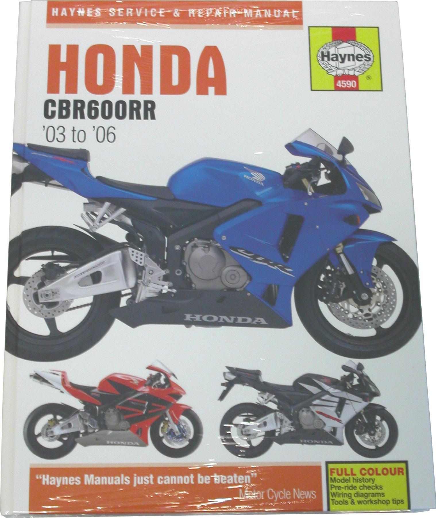 fits honda cbr 600 rr uk 2003 2006 manuals haynes each ebay rh ebay co uk  honda cbr 600 f2 user manual honda cbr 600 f2 user manual