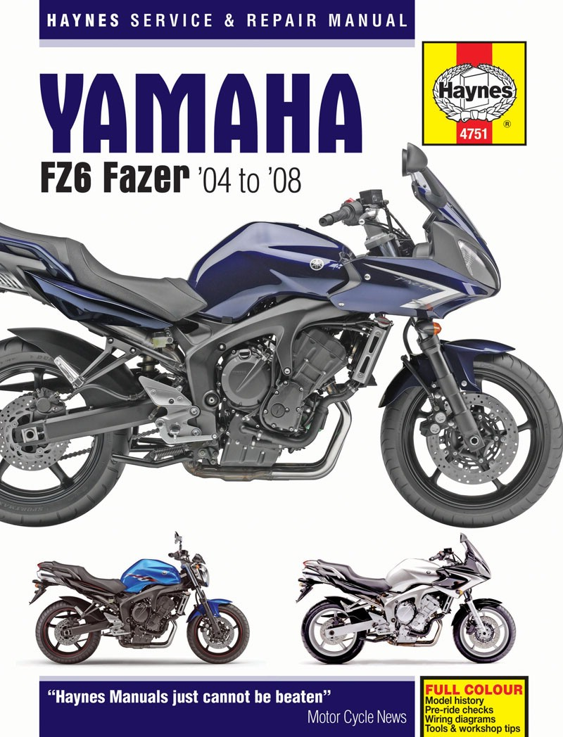 Image is loading Haynes-Manual-Yamaha-FZ-6S-FZ6-N-04-